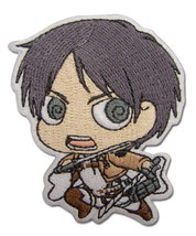 Attack on Titan SD Eren Patch Iron on GE44791 *NEW* - $8.99