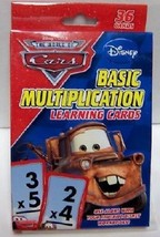 Disney Pixar Cars Basic Multiplication #36 Cards New - $9.79