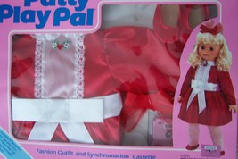 "1987 IDEAL TALKING  24"" PATTY PLAYPAL PRETTY PARTY DRESS & A FUNTIME PAR... - $28.71"