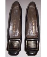 Vintage Andrew Geller Ladies Brown Patent Leath... - $84.39