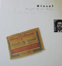 DIESEL World Wide Wear Italian Hip Fashion Design Book - $9.89
