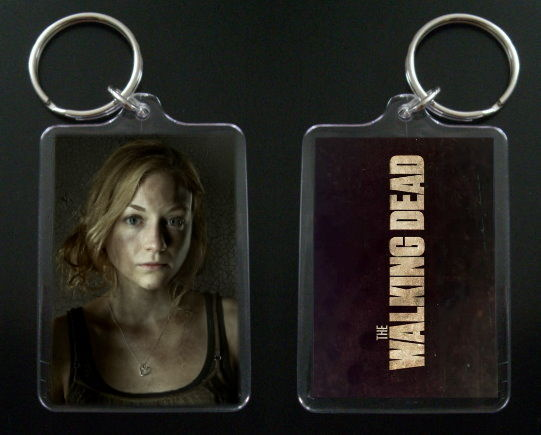 Primary image for THE WALKING DEAD keychain / keyring BETH GREENE