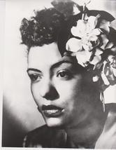 Billie Holiday QP Vintage 8X10 BW Jazz Music Memorabilia Photo - $4.99