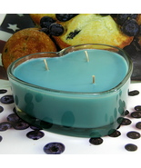 Blueberry Muffin 3 Wicked Heart Container Candle - $12.50