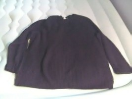 Sonoma Life + Style Women Black Pullover Sweater Xl - $14.99