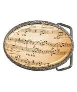Music Notes Belt Buckle - $7.52