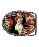 Alice on Wonderland Belt Buckle - $7.52