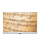 Music Notes Business Card Holder - $6.59