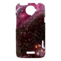 Pink Nebula Galaxy Universe Outer Space Hardshell Case for HTC One X - $14.07