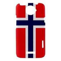 Norway Norwegian Flag Hardshell Case for HTC One X - $14.07