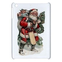 Santa Claus Merry Christmas Presents Hardshell Case for ipad Mini - $18.74