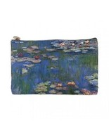 Claude Monet Water Lilies 2 Sided Cosmetic Bag Medium Size - $8.46
