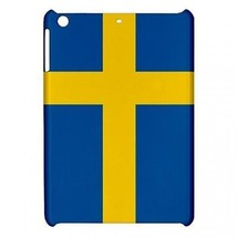 Sweden Swedish Flag Hardshell Case for ipad Mini - $18.74