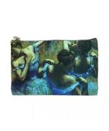 Edgar Degas The Blue Dancers 2 Sided Cosmetic Bag Medium Size - $8.46