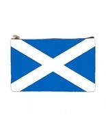 Scotland Scottish Flag 2 Sided Cosmetic Bag Medium Size - $8.46