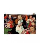 Alice in Wonderland 2 Sided Cosmetic Bag Medium Size - $8.46
