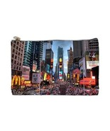 New York City Times Square 2 Sided Cosmetic Bag Medium Size - $8.46