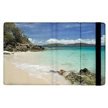 Caneel Bay Turtle Bay St Johns Tropical Island Beach Flip Case for ipad 2 - $18.74