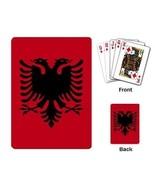 Albania Albanian Flag Deck of Playing Poker Cards - $8.46