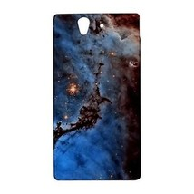 Blue Space Dust Nebula Galaxy Universe Hardshell Case for Sony Xperia Z ... - $14.07