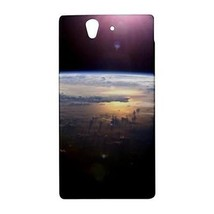 Sun Over Earth Outer Space Hardshell Case for Sony Xperia Z L36H - $14.07