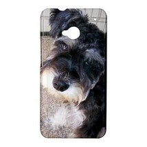 Miniature Schnauzer Puppy Dog Hardshell Case for HTC One M7 - $14.07