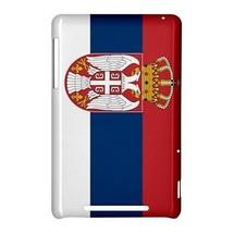 Serbia Serbian Flag Hardshell Case for Google Nexus 7 - $14.07