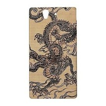 Chinese Dragon Hardshell Case for Sony Xperia Z L36H - $14.07
