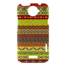 Ethnic Strips Tribal Pattern Hardshell Case for HTC One X - $14.07