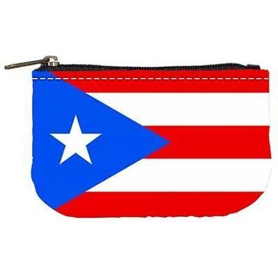 Puerto Rico Puerto Rican Flag Womens Coin Bag Purse