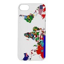 World Flag Map Hardshell Case for iphone 5S - $14.07