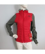 THE NORTH FACE Women's Mashup Full Zip Jacket TNF Red/TNF Dark Grey HTR ... - $89.95
