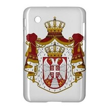 """Serbia Coat of Arms Hardshell Case for Samsung Galaxy Tab 2 7"""" P3100 P3110 - $18.74"""