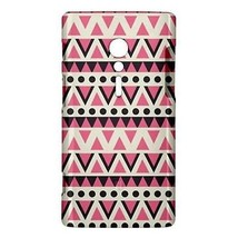 Vector Pink Black White Tribal Pattern Hardshell Case for Sony Xperia ion - $14.07