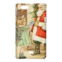 Merry Christmas Santa Claus Present Hardshell Case for Sony Xperia Miro - $14.07