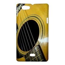 Acoustic Guitar Hardshell Case for Sony Xperia Miro - $14.07