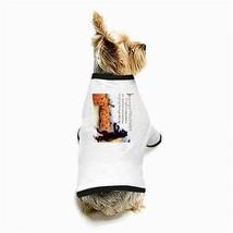 Halloween Pumpkin Choir Black Cat White Dog T-Shirt - $11.26