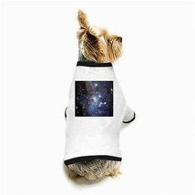 Star Forming Region Nebula Galaxy Universe Outer Space White Puppy Dog T-Shirt - $11.26