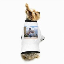 Welcome To Fabulous Las Vegas Nevada Sign White Puppy Dog T-Shirt - $11.26