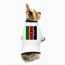 Kenya Kenyan Flag White Puppy Dog T-Shirt - $11.26