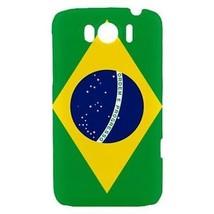 Brazil Brazilian Flag Hardshell Case for HTC Sensation XL - $14.07