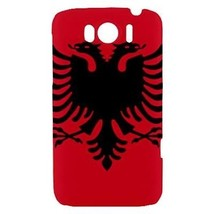 Albania Albanian Flag Hardshell Case for HTC Sensation XL - $14.07