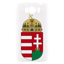 Hungary Hungarian Coat of Arms Hardshell Case for HTC Sensation XL - $14.07