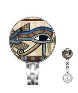 Egypt Eye of Horus Womans Stainless Steel Nurse Watch - $11.26