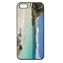 Caneel Bay Turtle Bay Tropical Island Beach Seamless Black Case for ipho... - $14.07