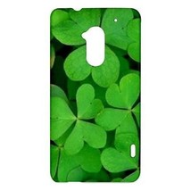 St Patrick's Day 3 Leaf Clovers Hardshell Case for HTC One Max T6 - $14.07