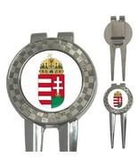 Hungary Hungarian Coat of Arms 3-in-1 Golf Divot - $8.46