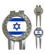 Israel Israeli Flag 3-in-1 Golf Divot - $8.46
