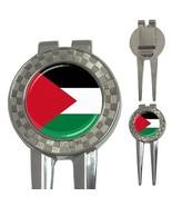 Palestine Palestinian Flag 3-in-1 Golf Divot - $8.46