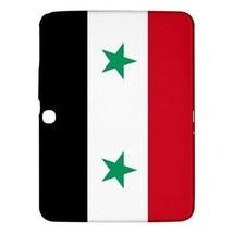 """Syria Syrian Flag Hardshell Case for Samsung Galaxy Tab 3 10.1"""" P5200 - $18.74"""